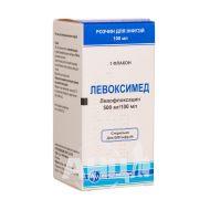 Левоксимед раствор для инфузий 500 мг/100 мл флакон 100 мл №1