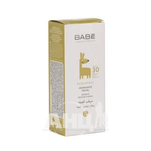 Дитячий крем для обличчя Babe Laboratorios з SPF 30 зволожуючий 50 мл