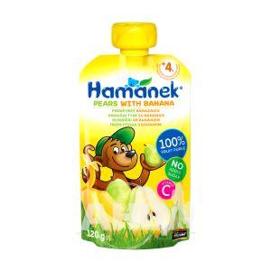 Пюре Hame груша та банан 120 г