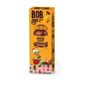 Цукерки Равлик Боб в молочному шоколаді манго 30 г