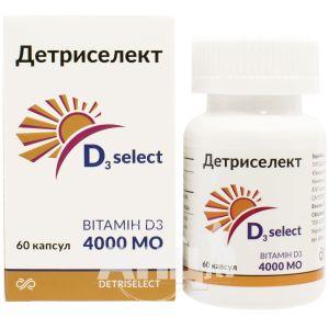 Детріселект 4000МО капсули №60