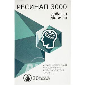 Ресинап 3000 розчин 10мл №20