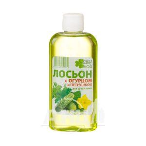 Лосьйон для обличчя ЕкоКод з огірком і петрушкою для сухої шкіри 100 мл