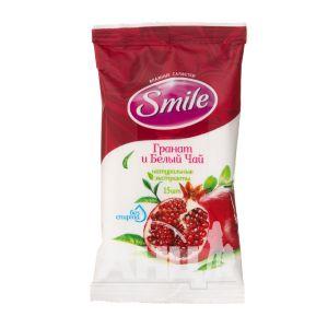 Салфетки влажные Smile Daily Fresh гранат+білий чай №15