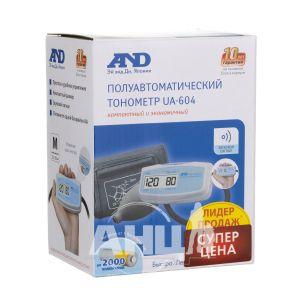 Тонометр напівавтоматичний A&D UA-604
