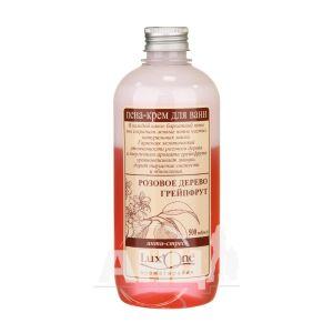 Піна-крем для ванн LuxOne антистрес рожеве дерево-грейпфрут