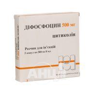 Дифосфоцин раствор для инъекций 500 мг/4 мл флакон №5