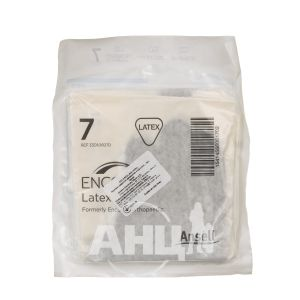 Перчатки латексные хирургические стерильные без пудры Encore latex ortho размер 7 пара