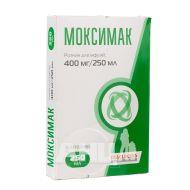 Моксимак раствор для инфузий 400 мг/250 мл контейнер 250 мл №1