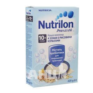 Каша молочна Nutrilon суха швидкорозчинна 4 злака 225 г