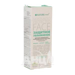 Крем для обличчя NATURE.med захисне зволоження для нормальної та комбінованої шкіри 50 мл