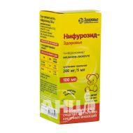 Ніфурозид-Здоров'я суспензія оральна 200 мг/5 мл флакон полімерний 100 мл