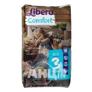 Подгузники для детей Libero Comfort 3 4-9кг №62