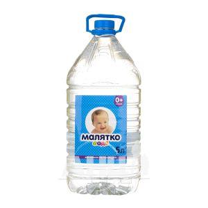 Вода питна дитяча Малятко негазована 5 л