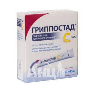 Гриппостад з бліц стик-пакетик 2,02 г №12