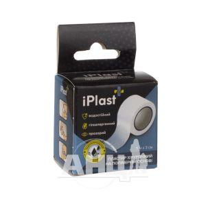 Пластир Iplast хірургічний 5 м х 3 см на полімерній основі