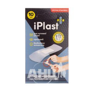 Пластырь медицинский Iplast полимерный 1,9х7,2см №10