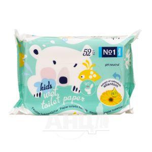 Туалетная бумага Bella влажная для детей №52