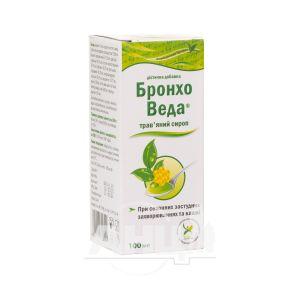 Бронхо Веда сироп от кашля с медом 100 мл