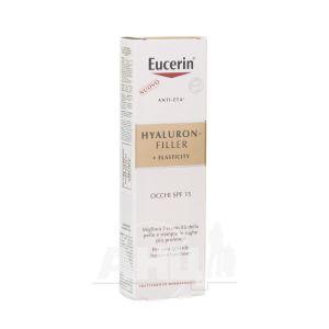 Крем Eucerin Hyaluron-Filler + Elasticity Антивіковий для шкіри навколо очей SPF15 15 мл