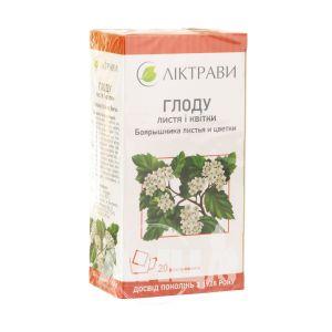 Глоду листя та квітки 2,5 г фільтр-пакет №20