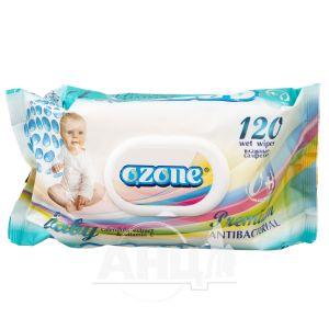 Салфетки влажные Ozone календула и Витамин Е №120