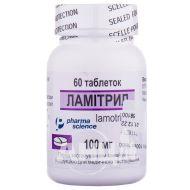 Ламитрил таблетки 100 мг флакон №60