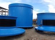 ALLIS CHALMERS-KOBE STEEL 18' x 24' (5.5m x 7.35m) Ball Mill Designed for 4,000 - 6,000 HP (2,982 kW - 4,474 kW) Motors