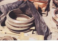 NORDBERG MP1000 Cone Crusher Torch Rings, Part No. 6391-6310