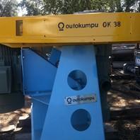 12 Units  - OUTOKUMPU Type OK-38 2-U Flotation Cell Mechanisms with 60 kw (80 HP) motors