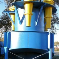 UNUSED WARMAN 5- Cyclone Cluster with distributor and Weir Sz 6, Type HAO IsoGate Slurry Valves
