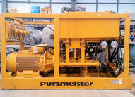 2 Units - PUTZMEISTER HSP 25100 Backfill Pumps and HA250E Power Packs