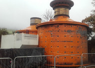 """ANI 4.7m x 6.7m (15.5' x 22"""") Ball Mill with 2,300 kW (3,084 HP) Motor"""
