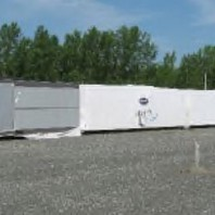 112-Man Self Contained Man Camp - Builders Choice (56 double bed rooms), Stored at a port, 1km from loading dock.