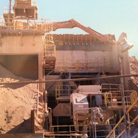 COMPLETE CRUSHING PLANT, including Jaw Crusher, Cone Crusher, Screens, etc.