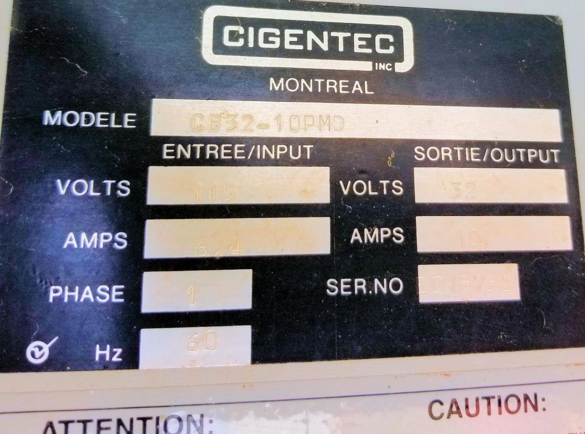CATERPILLAR Model D399 Generator Set
