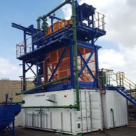 10-15 TPH Modular Gravity Hard Rock Gold Recovery Plant