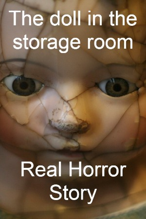 The doll in the storage room