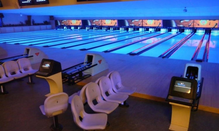 Go bowling with friends for a crazy night out