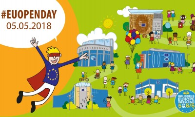 Discover Europe Day and the European Institutions Open Day on Saturday 5 May in Brussels!