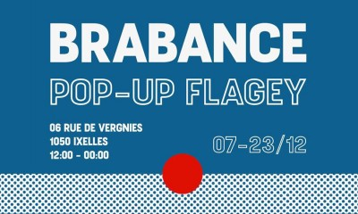 Brabance Pop Up Flagey 2018
