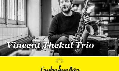 Live jazz & Champagne with Vincent Thekal Trio