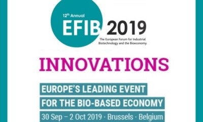 EFIB 2019 - European Forum for Industrial Biotechnology & the Bioeconomy