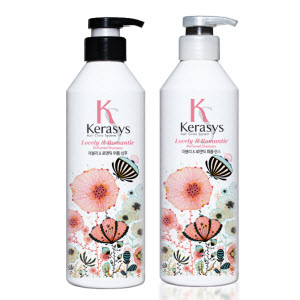 Kerasys 可瑞絲香氛洗髮精及香氛護髮素