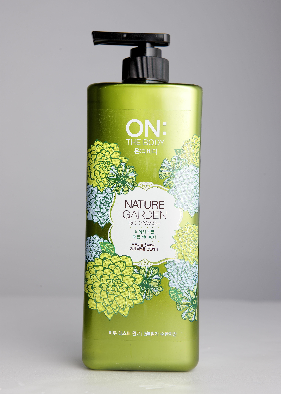 自然花園香水沐浴精