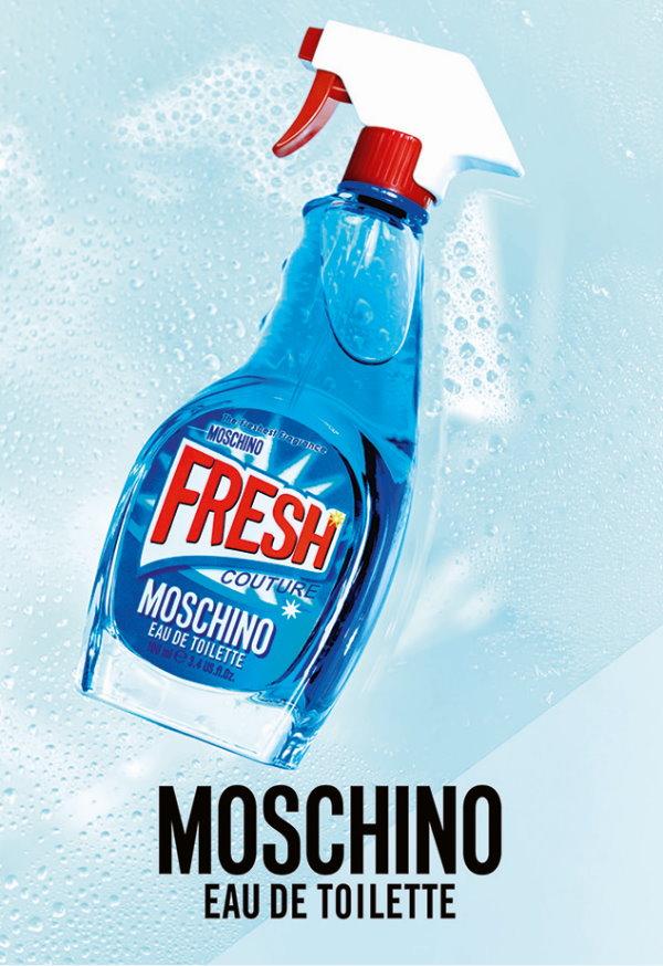 MOSCHINO,小清新淡香水,香水,清潔劑造型,香水瓶,淡香,趣味香氛,試用,體驗