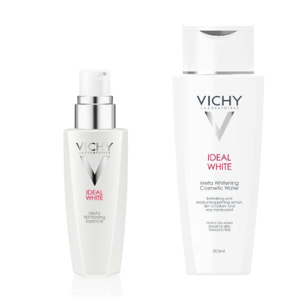 VICHY,薇姿,淨膚透白,精華,面膜精華水,面膜,美白,保濕,試用,體驗