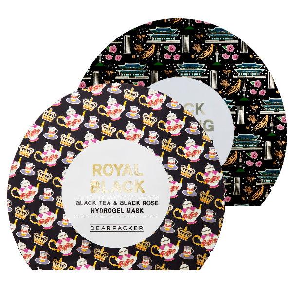 DEAR PACKER,英國皇室紅茶保濕軟糖面膜,韓國錦山黑蔘黃金軟糖面膜,紅茶面膜,面膜,韓國美妝,韓系保養品,保濕,體驗
