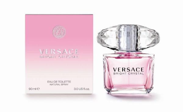 VERSACE,香戀水晶女性淡香水,宏亞香水,淡香精,香水,香氛,淡香水,凡賽斯,試用,體驗