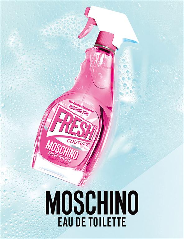 MOSCHINO, 莫斯奇諾, 小粉紅清新女性淡香水, 小粉紅, 淡香水, 清潔劑香水, 女香, 針管香水, 清新香水, 試用, 體驗